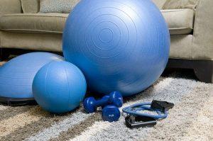 exercising online