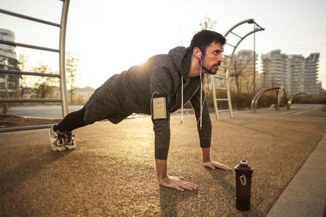 Lockdown exercising